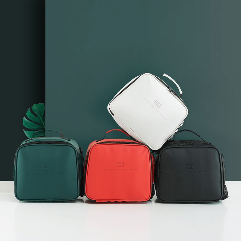 Portable Lunch Box Insulated Bag Large Warm Cooler Tote Bag For Women Kids Men F42A