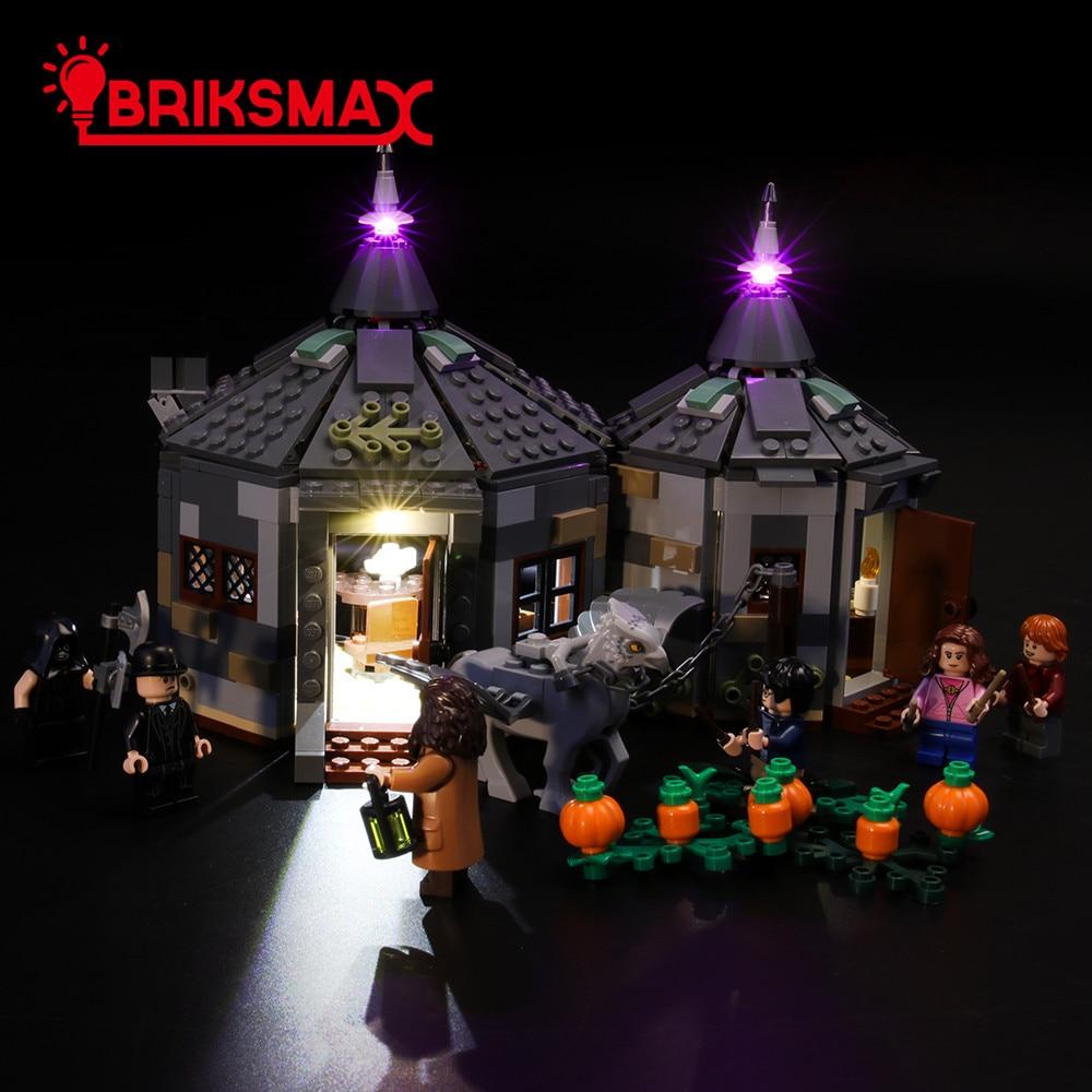 BriksMax Led Licht Kit Für Hagrid der Hütte: buckbeak der Rettungs Ziegel Beleuchtung Set Kompatibel Mit 75947 (NICHT Enthalten Modell)