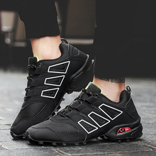купить SUROM Brand Men Running Shoes Sport Outdoor Black Trekking Sneakers Summer Jogging Krasovki Non-slip Tactical Camping Men Shoes дешево
