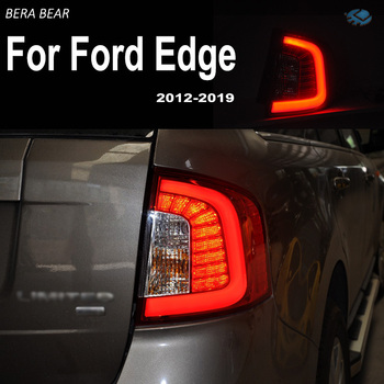 BERA BEAR Car Styling Taillights For Ford Edge 2012-2019 Tail Light Lamp LED DRL+ Brake+Back-up+Turn signal+Fog Lamp