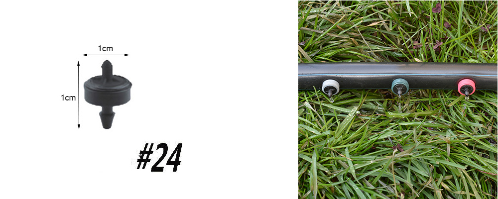 H91b9dbe4b7184f85abfc432cf75999f8w Garden Drip irrigation Hose Connector Spray Sprinkler Automatic Irrigation Garden Irrigation System Autowatering
