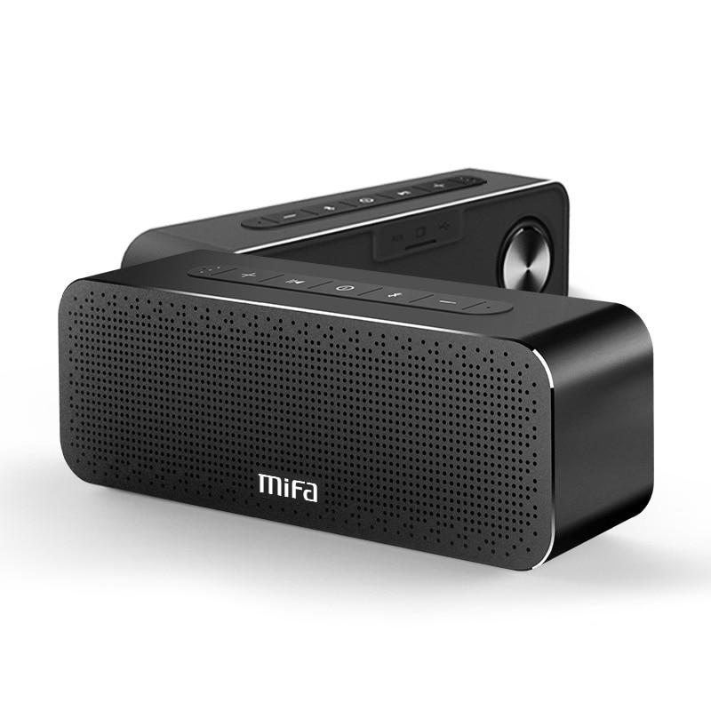 MIFA A20 falante Portátil Super Bass Sem Fio Bluetooth Speaker Metal Bluetooth4.2 3D Digital Altifalante de Som Handfree MIC TWS