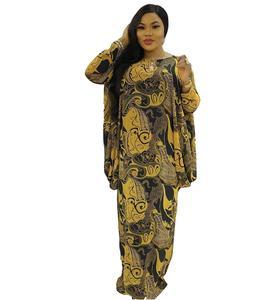 Fashion Abaya Muslim Hijab Dress Printed Dubai Kaftan Eid Abayas For Women European Clothing Turkey Robe Ramadan Dresses DCC490