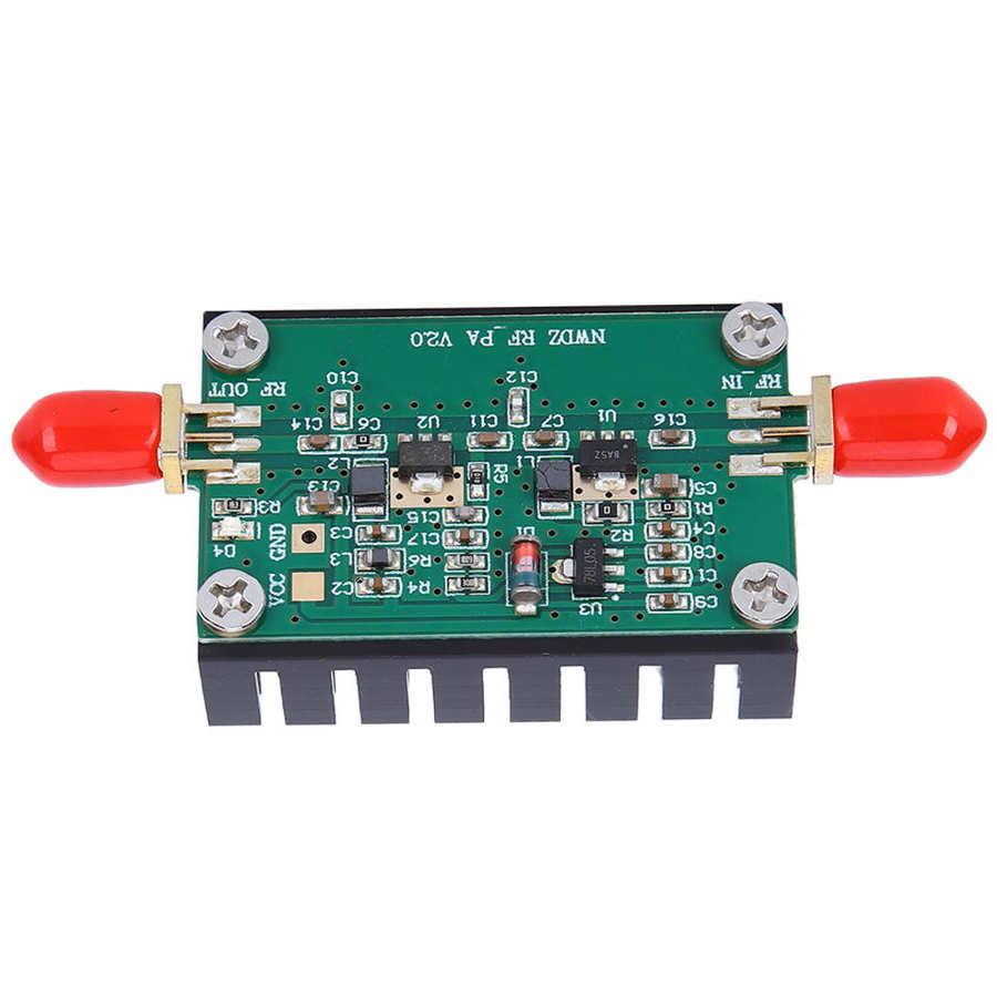 Магнитный контактор широкополосный усилитель сигнальный модуль со встроенной защитой 1-1000 м 3 Вт для HF / FM / VHF / UHF Electric