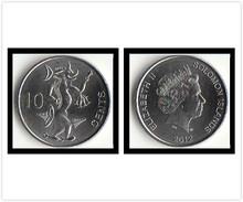 Solomon Islands 10 Cents Coins Oceania New Original Coin Collectible Edition Real Rare Unc Commemorative 2012 Edition(China)