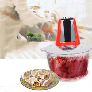 Image 4 - 2L Electric Chopper Powerful Meat Grinder Multifunctional Household Food Processor Meat Kitchen Blender Us Plug