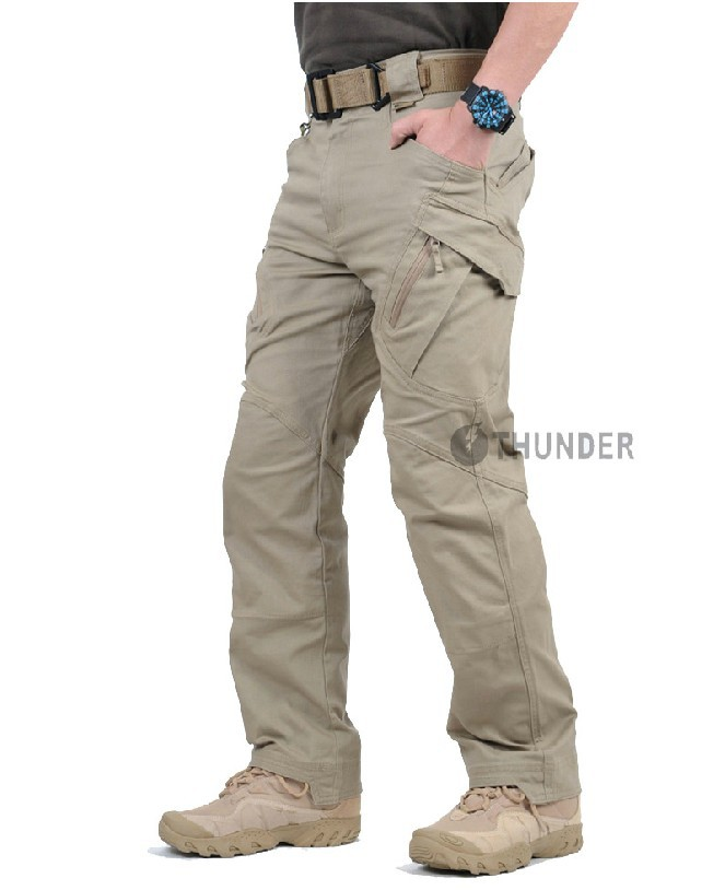 Archons IX9 Spy Studios City Tactical Trousers Men Outdoor Training Pants Sub-Casual Pants Army Fans Training Multi-Bag