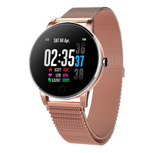 Fitness Tracker Smart Watch Band IP67 Waterproof Watches Bracelet with AI Heart Rate Blood Monitor for Women Men