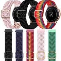Armband Riem Voor Huawei Horloge Gt 2/2e 46Mm/42Mm 3 Pro Honor Gs Pro Magic/Droom/Es Horlogeband Nylon Smart Horloge Band Vrouwen/Mannen