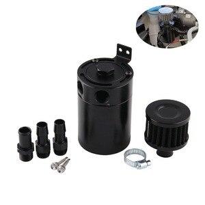 A captura de óleo desconcertada compacta pode 3-port 3-hole que ventila o óleo pode waste gás acessórios do carro do potenciômetro da recuperação do óleo waste
