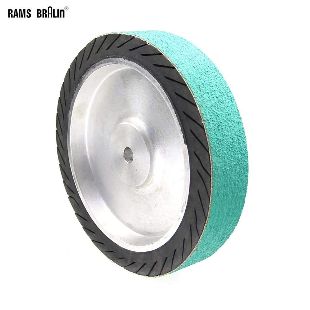 250 50 15 875mm Centrifugal Rubber Contact Wheel 10 Expander Wheel for Sanding belts on Motor