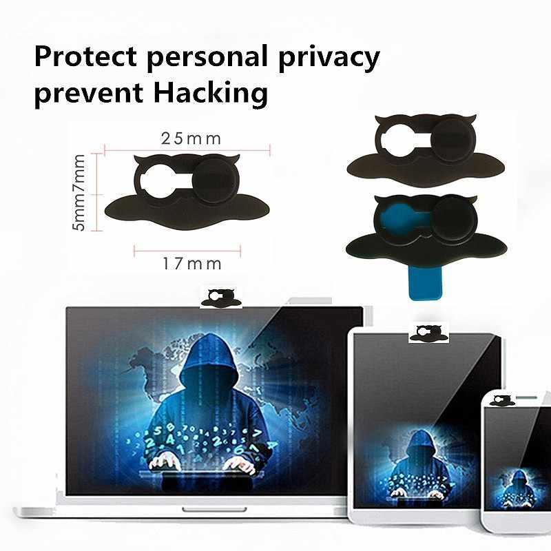3PCS Cubierta Camara Web Cam Shutter Magnet Slider Camera WebCam Cover for Laptop Macbook Webcamera Privacy Sticker Protector