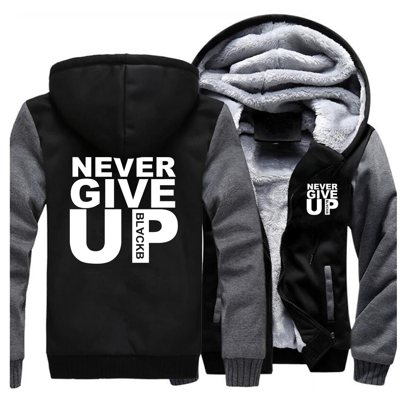 You Never Walk Alone Never Give Up Liverpool Fleece thick Hoodies Men Sportswear 2020 casual warm sweatshirt Streetwear jacket