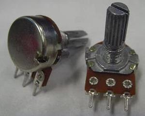 Бесплатная доставка. Одностворчатый потенциометр (короткая ручка) B10K 3 фута длинной ручкой 15 мм