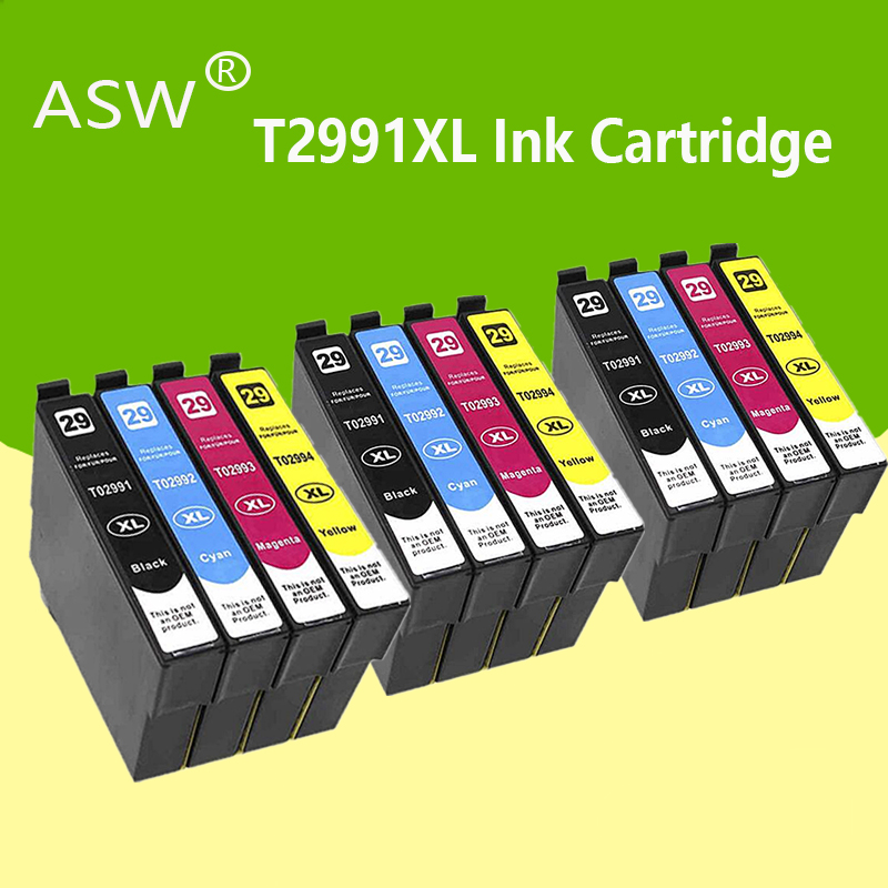 ASW Compatible T2991 29XL ink cartridge for EPSON XP255 XP257 XP332 XP335 XP342 XP 235 245 247 255 257 332 335 342