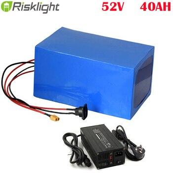 Batería de bicicleta eléctrica bafang 52V 48v 2000w 1500w 52v 40ah 20AH...