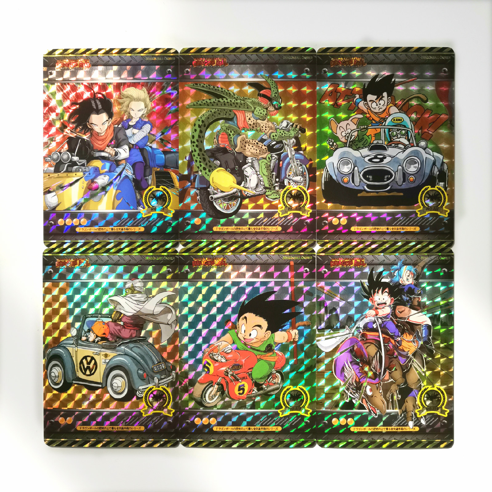 27pcs/set Super Dragon Ball Z Vehicle Sixth Bomb Heroes Battle Card Ultra Instinct Goku Vegeta Game Collection Cards