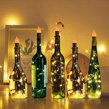 wine bottle light with…