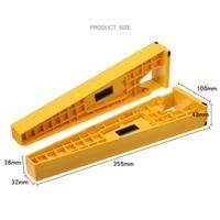 1 Set Drawer Slide Mounting Tool Cabinet Hardware Jig Drawer Rail Mounter Installation Tool