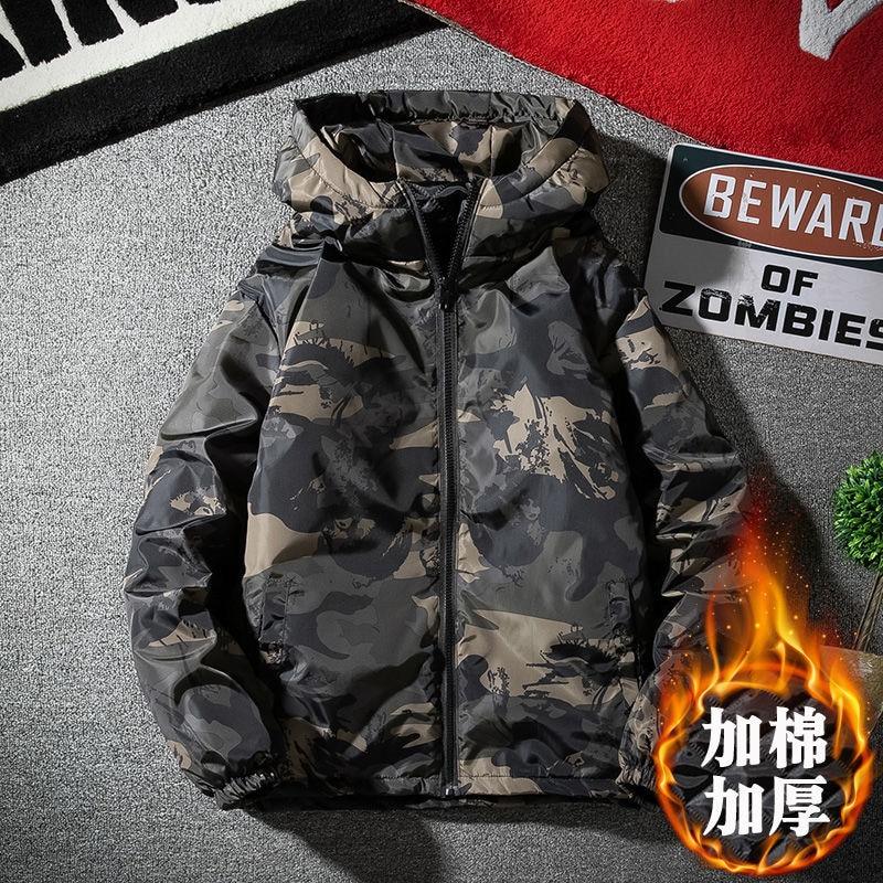 Winter Jacket Men 2019 Hot Sale Camouflage Army Thick Warm Coat Men's Parka Coat Male Fashion Hooded Parkas Men