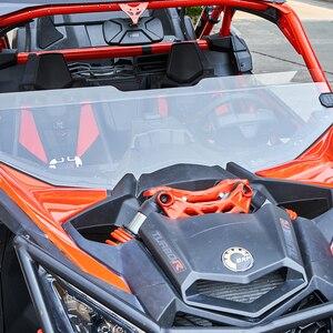 """Image 2 - KEMIMOTO UTV Nửa Năm 1/2 49.2 """"Trước Mặt Kính Chắn Gió Chắn Gió Cho Có Thể Đang Maverick X3 Của CSGT XRS XDS Turbo R MAX 2017 2021"""