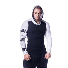 Hoodie Mens Brand Casual Sweatshirt Fashion Hooded Pullover Jogger Fitness Bodybuilding Wear