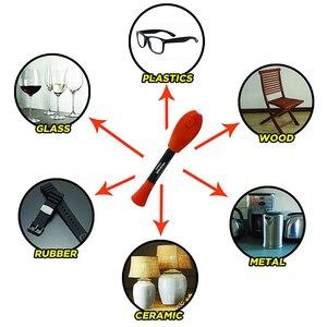 Image 3 - VISBELLA 5 Zweiten Fix UV Licht Stift Kleber Super Powered Flüssigkeit Kunststoff Klebstoff für Metall Holz Keramik Glas Reparatur Hand werkzeug Sets
