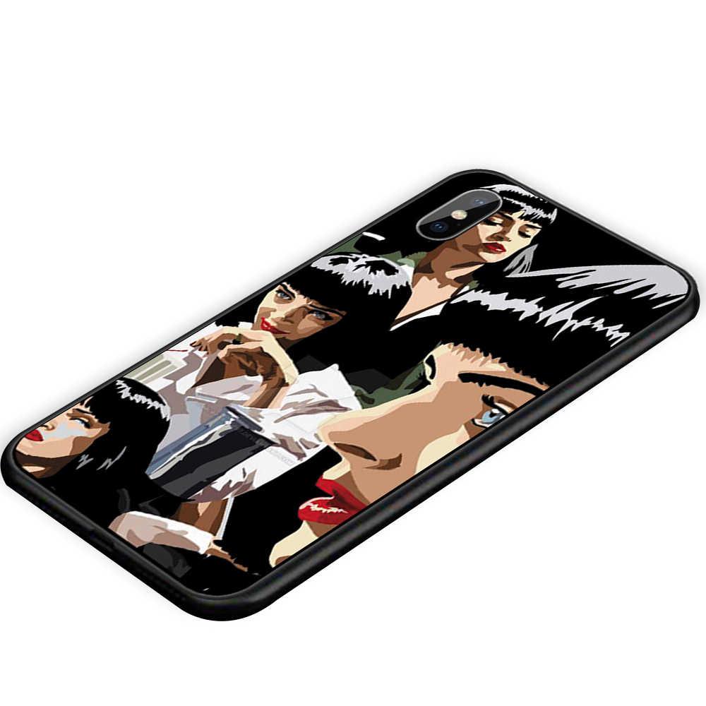 اللب الخيال الفيلم المشارك لا يصدق لينة سيليكون بولي TPU الغطاء الخلفي حقيبة لهاتف أي فون XR X XS ماكس 5 5s 6 6S 7 8 Plus 11 11ProMax