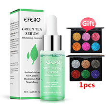 EFERO Green Tea Serum Moisturizing Whitening Face Cream Anti Wrinkle Aging Shrink Pores Acne Treatment Skin Care