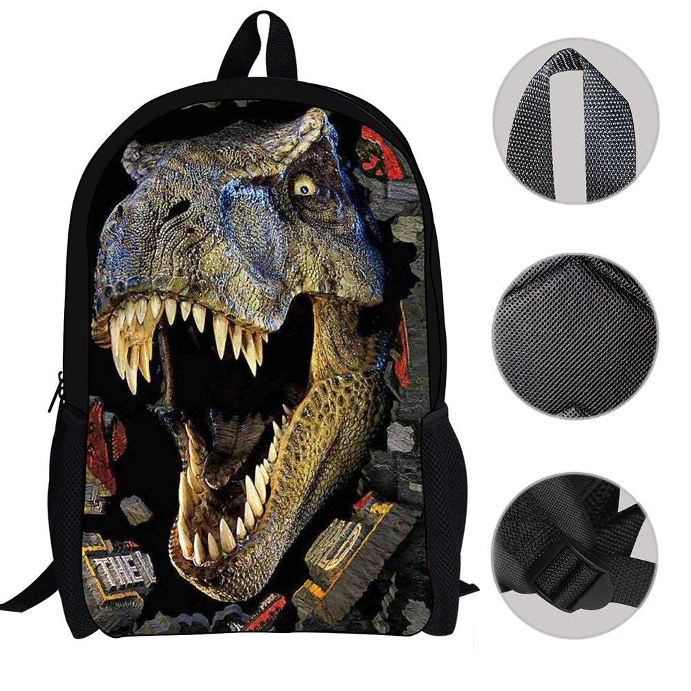 Crianças Meninos Dinossauro Tiranossauro Saco Para Adolescentes
