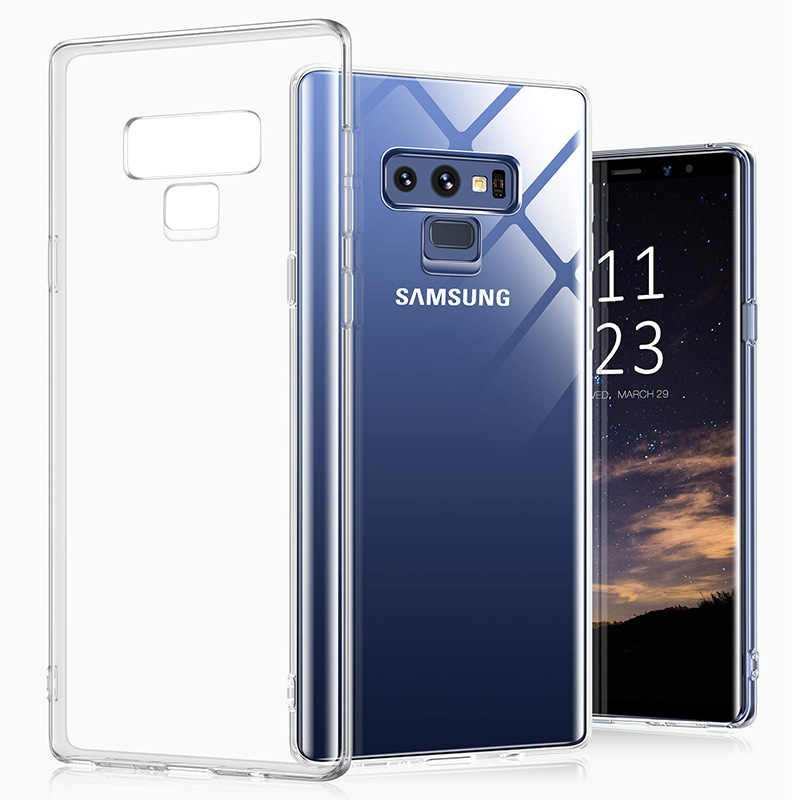 Crystal Clear Ultra Thin Slim Soft Tpu Gevallen Covers Voor Samsung Galaxy Note9 Note 9 Telefoon Back Cover Transparant Gel galaxyNote9