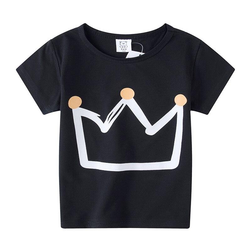 Cartoon T Shirt Kid New Summer Fashion T-shirt Children Tshirt Girl Boy Cute Tee Tops Clothing Girls Tops Baby Boy Clothes