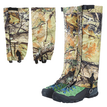 1 Pair Winter Snow Gaiters Long Camouflage Leg Protection Wr