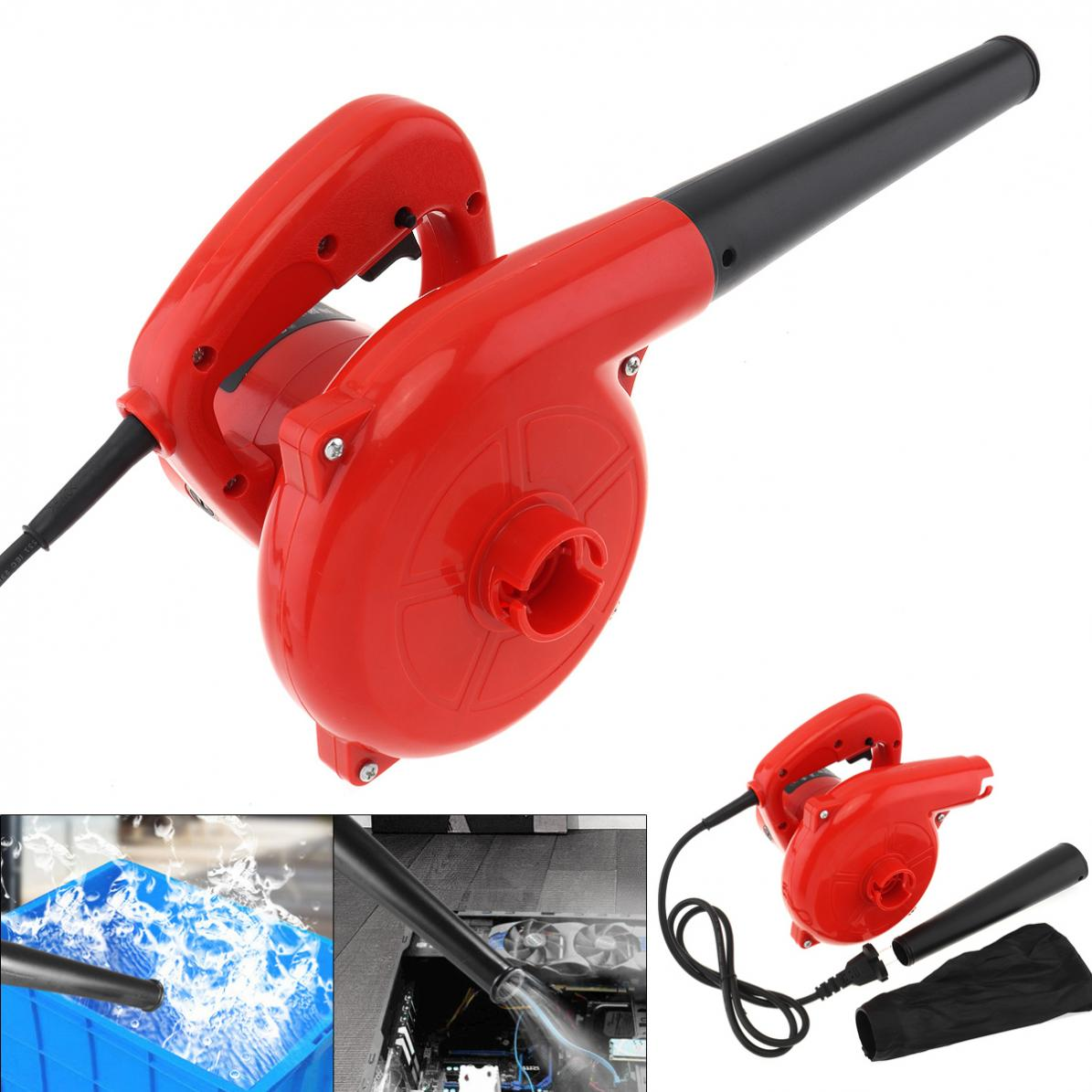 220V 600W 16000rpm Multifunctional Portable Electric Blower Duster Dust Collector with Suction Head and Bag for Removing Dust|Blowers| |  - title=