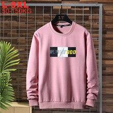 Primavera oversized hoodies homem streetwear sweatshirts masculino harajuku preto vermelho masculino casual pulôver tamanho grande 9xl 8xl 7xl 6xl 5xl