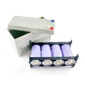 Image 3 - 32650 Lifepo4 리튬 철 인산염 배터리 팩 상자 3.2V 6.4V 전원 브래킷 9.4V 12.8V ABS 빈 케이스 고정 쉘 4S 커버 12V