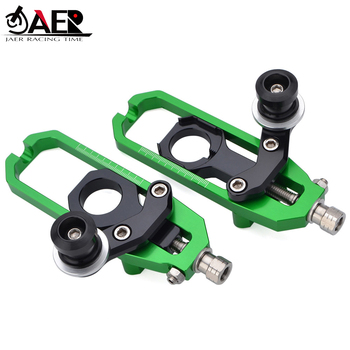 JAER Chain Adjusters Tensioners Catena with Spools for Kawasaki ZX10R 2011 2012 2013 2014 2015 2016 Motorcycle