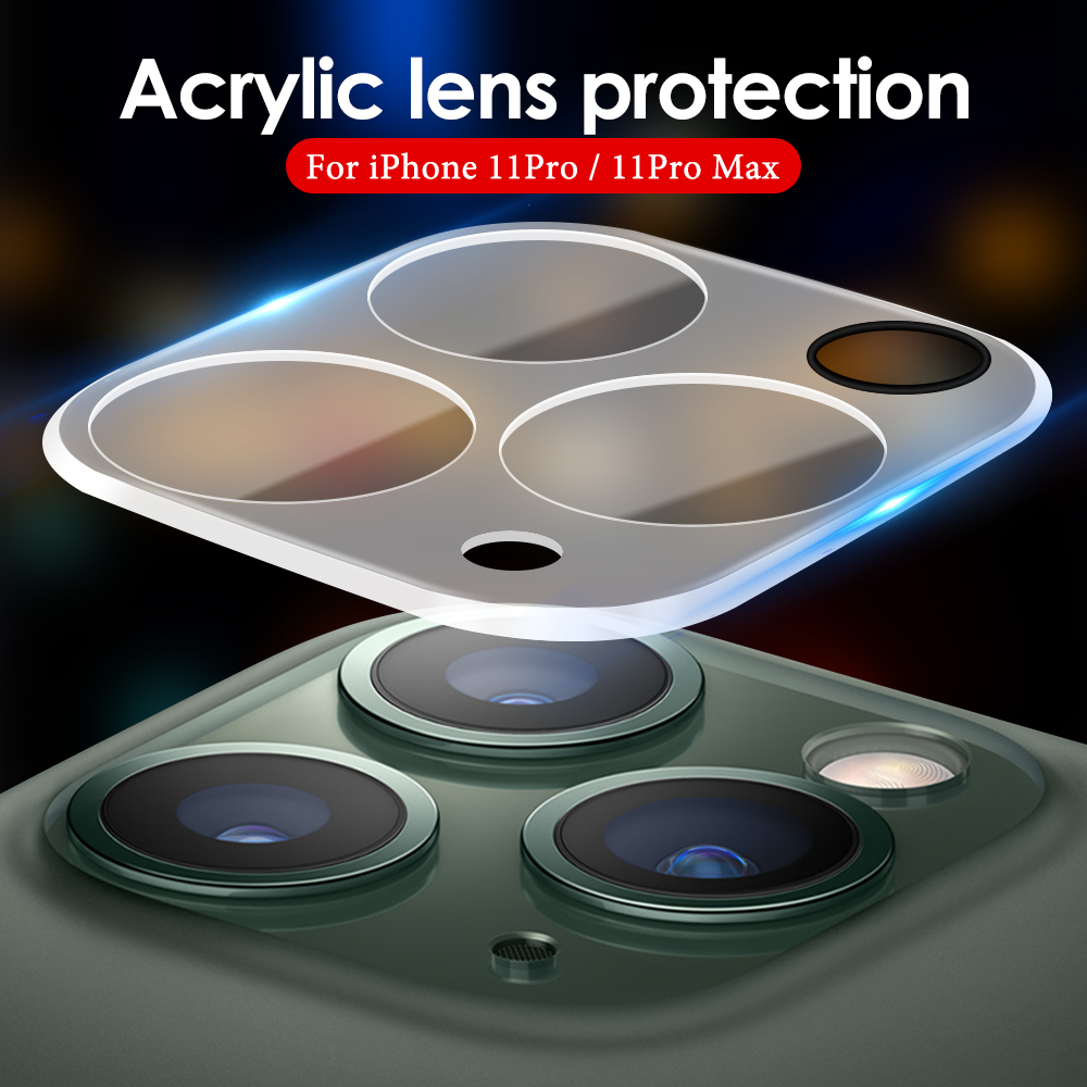Back Camera Lens Phone Protector Cover For IPhone 11 Pro Max Full Cover Camera Lens Guard Cover For IPhone 11 Pro Acrylic Cover