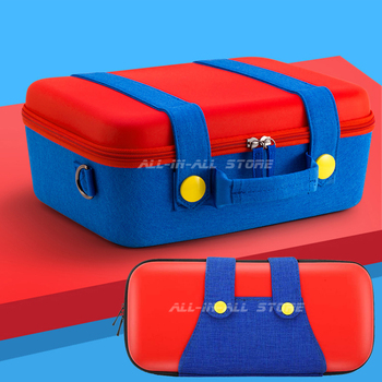 Newest Nintend Switch Big Bag + Small Mini Case Waterproof Portable Carrying Pouch for Nintendo Switch Console Games Accessories 2