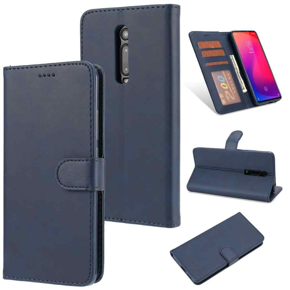 สำหรับ Xiao Mi 9T 360 ° ป้องกันกระเป๋าสตางค์โทรศัพท์กรณีสำหรับ Xiao MI 9T พลิกหนังกันกระแทกสำหรับ Mi 9T PRO