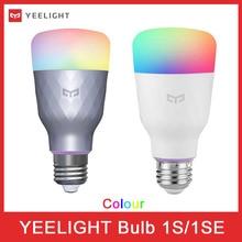 Yeelight 1s 1SEカラフルな電球E27スマートapp無線lanリモートコントロールスマートledライト温度ランプxiaomi mijia miホーム
