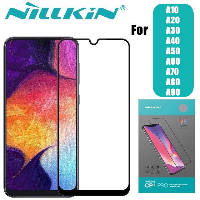 Nillkin Screen-Protector Tempered-Glass Samsung Galaxy Full-Cover For A10/A20/A30/..
