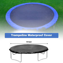 14 Feet Trampolines Weather Cover Waterproof Cover Rainproof Protection Cover Perfect For Outdoor Round Trampolines