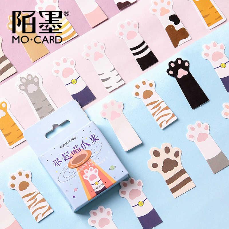 40 Pcs חתול Paw צעצוע מדבקות לעיצוב מכונית אופני אופנוע טלפון נייד נסיעות מטען מגניב מצחיק מדבקת מדבקות
