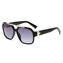 Brand Design Fashion Men Sunglasses Vintage Male Square Sun