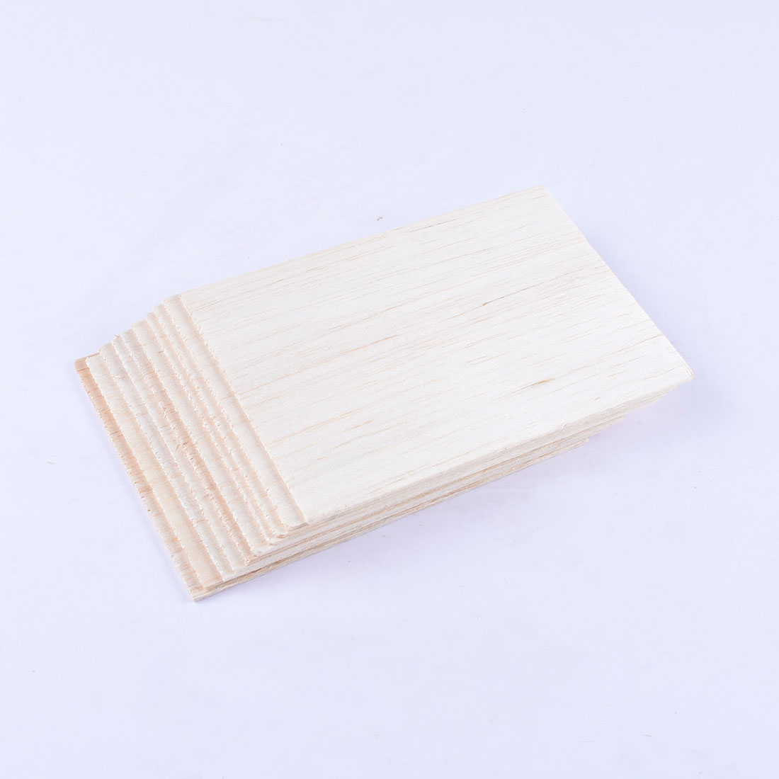 10pcs 100x150x2mm Thin Wood Board Panel Plaque For DIY Handmade Arts Craft Decor Building Model Materials