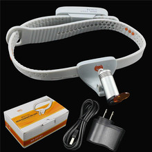 New Medical Headlight 3W LED Medical Headlamp Dental Surgical Medical Headlight with Rechargeable Battery Dental Filter