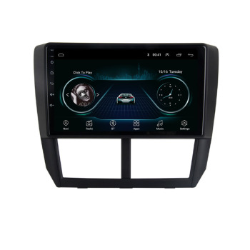 4G LTE Android 10.1 For Subaru Forester Impreza 2008 2009 -2012 Multimedia Stereo Car DVD Player Navigation GPS Radio image