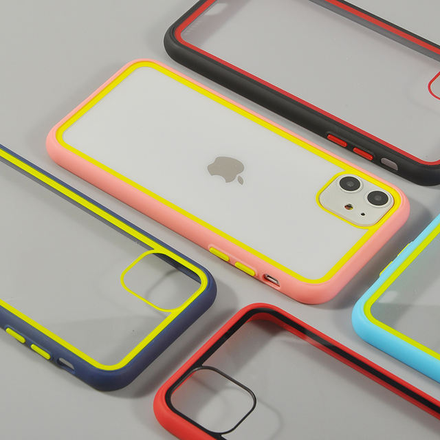 Shockproof Soft Silicone Phone Cases for iPhone 11 Pro X XR XS MAX 7 8 Plus 11