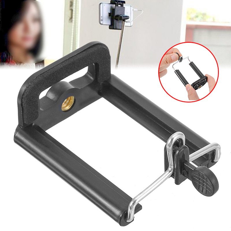 Tripod For Cell Phone Mobile Camera Stand Holder Clip Stander Monopod Tripe Adapter Clip For Phone